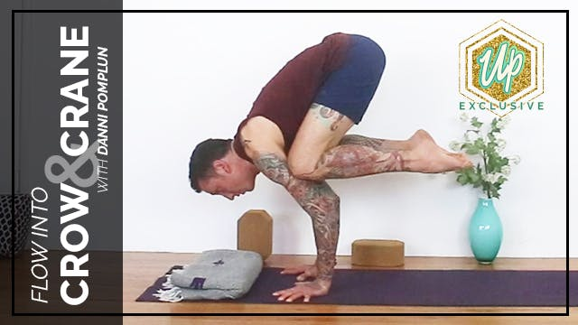 Flow into Crow and Crane (Kakasana / ...