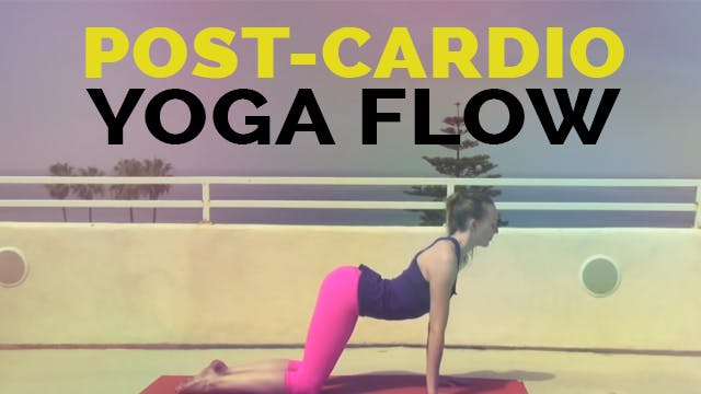 Yoga for Athletes - Vinyasa Flow Yoga Great to do After Cardio Workout (55 min)