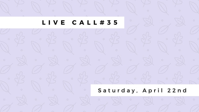 Live Call #35: Restorative | PreNatal