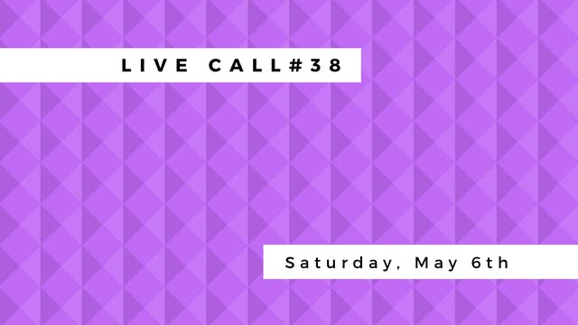 Live Call #38: Business Tips | Filming | Practicum info
