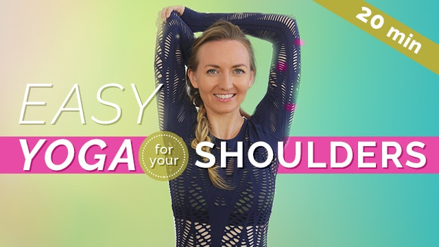 Easy Yoga for Your Shoulders