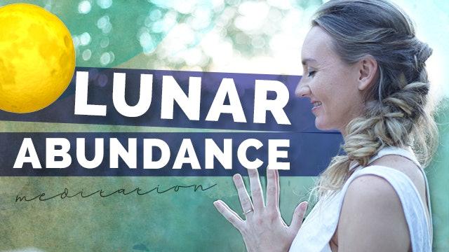 Calming Lunar Meditation | Chandra Bhendana