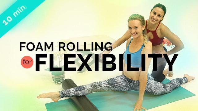 Foam Rolling for Flexibility