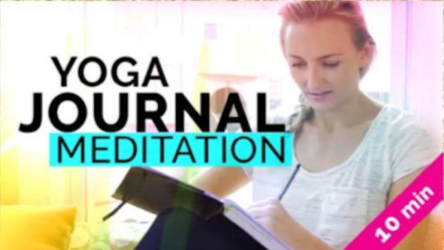 Yoga Journal Meditation (45-Min)