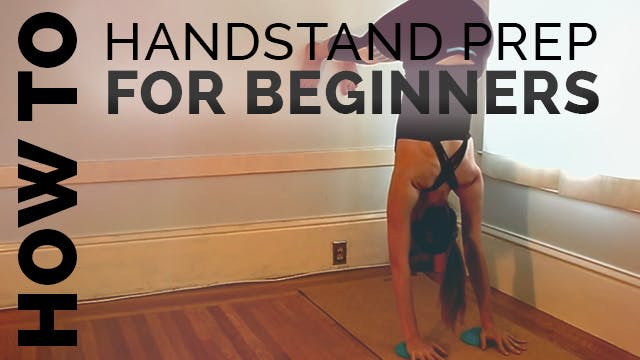 How to do a Handstand for Beginners (...