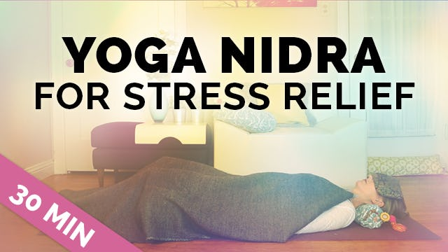 Yoga Nidra for Stress Relief || Restful Meditation for Deep Relaxation