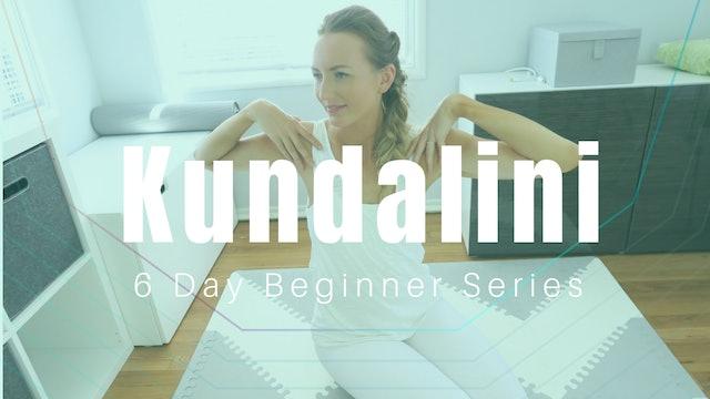 Kundalini for Beginners 6 Day Series