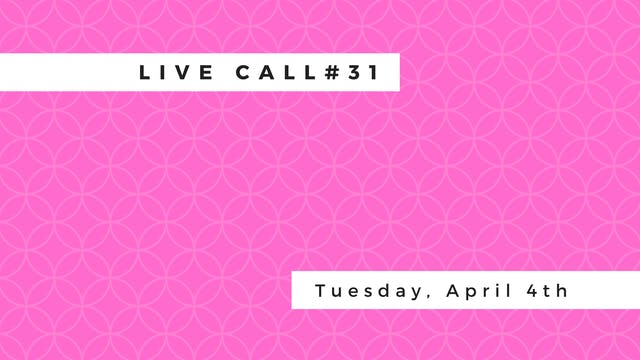 Live Call #30 Upavishta konasana | na...