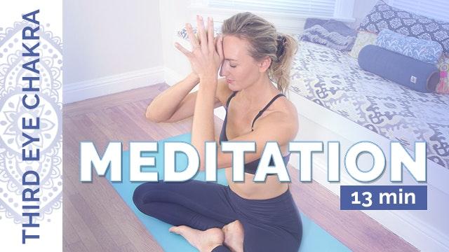 Chakra 6 - Meditation (13-Min)