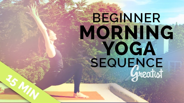 Beginner Morning Yoga Sequence for Gr...