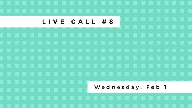 Live Call #8: B.2.1 | B.2.2 | B.2.3 | Poses: Cat & Cow
