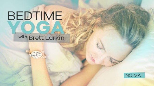 Soothing Bedtime Yoga - NO MAT! (10-Min)