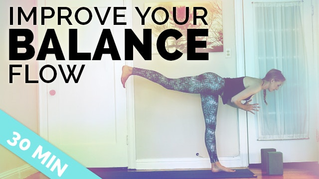 Improve Your Balance Yoga Sequence ♥ ...