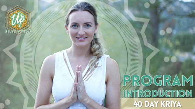 [NEW] 40 Day Kriya Introduction - How this Works