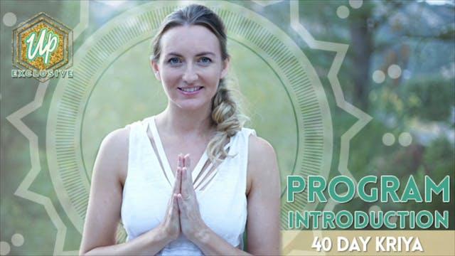 [NEW] 40 Day Kriya Introduction - How...