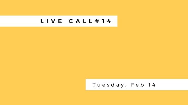 Live Call # 14: B.3.2 | B.3.3 | B.3.4...