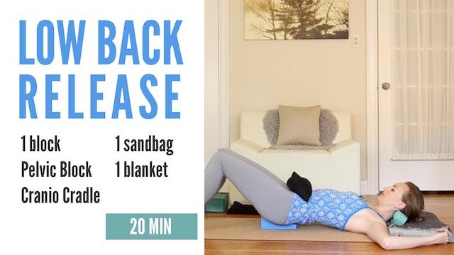 Low Back Release - 20 min