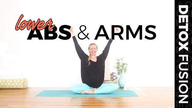 Day 19 - Low Ab Workout | Yoga for Yo...