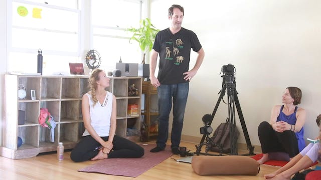 [Mod 4] 1.5 Behind-the-Scenes Yoga Film Shoot with Duke & Lesley Fightmaster
