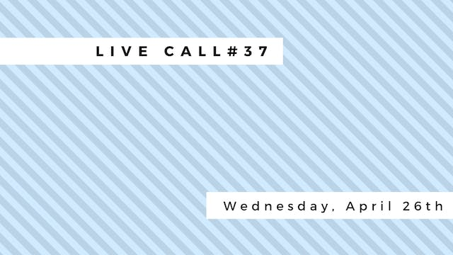 Live Call #37: Subtle Body & Chakras