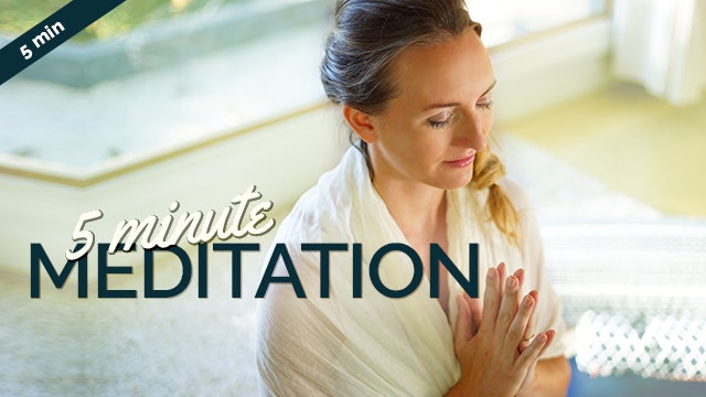 [NEW] 5-Minute Meditation