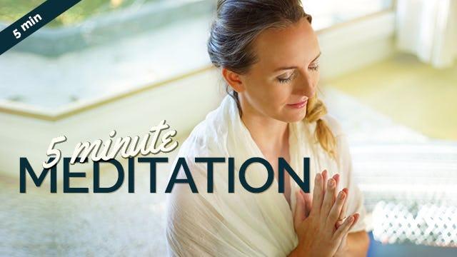 [NEW] 5-Minute Meditation