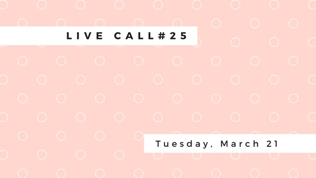 Live Call #25: B.5.5 | Sirsasana | Ha...
