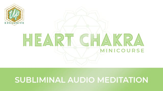 Heart chakra Affirmations track