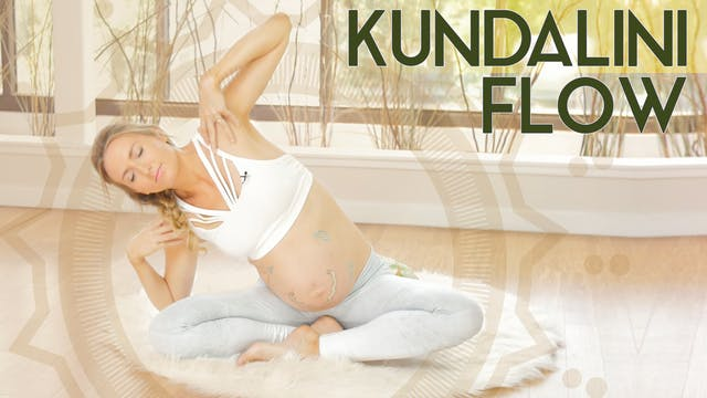 Kundalini Yoga + Positive Birth Mindset (40 min) - Medium Intensity | Kundalini