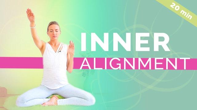 [NEW] Kundalini Yoga for Inner Alignment - 20min
