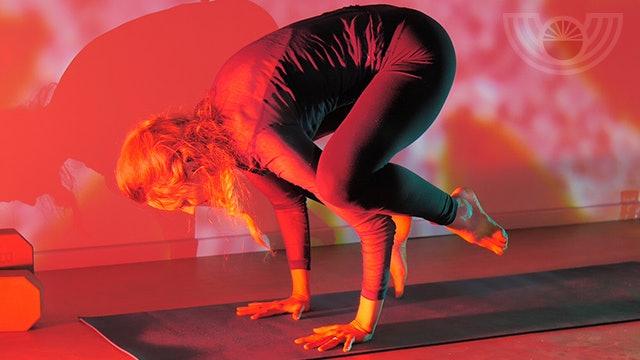 Yoga for Balance with Crow Pose {Kali Day 4}