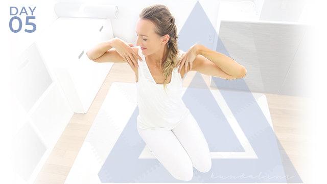 Beginner Kundalini Yoga Day 5 Weight Loss and Core