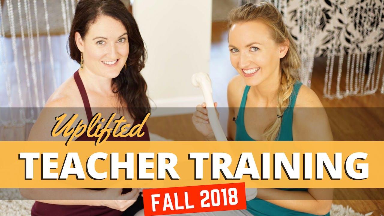 Yoga Teacher Training Material - Fall 2018