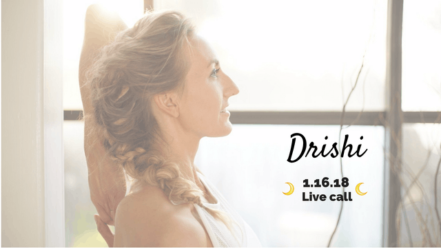 [Member Only] Live Call: Drishti