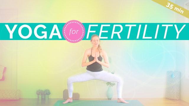 [NEW] Yoga for Fertility & Creativity (35-min)