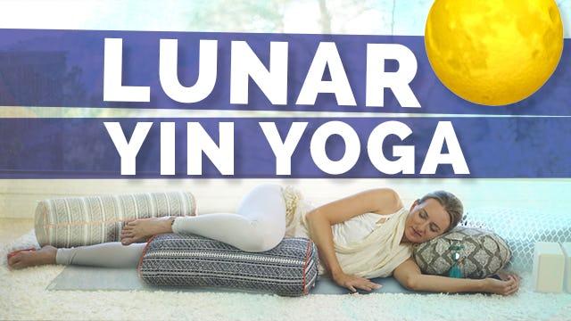 [NEW] Lunar Yin Yoga + Chandra Bhedana - 45 min
