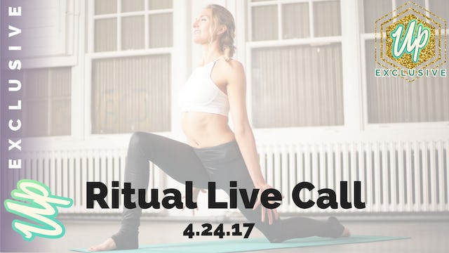 Uplifted Member Only Ritual Live Call