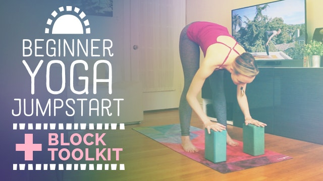 How to Use Yoga Blocks [Beginner Yoga...