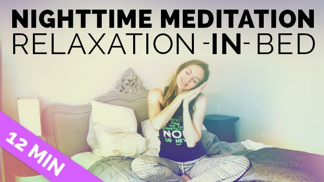 Bedtime Meditation for Sleep: Relaxation IN Bed - Relaxation Techniques for Insomnia