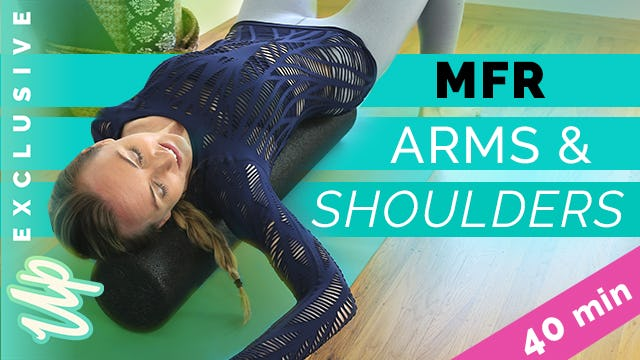[Member-Only] Self-Massage Upper Body Foam Roller