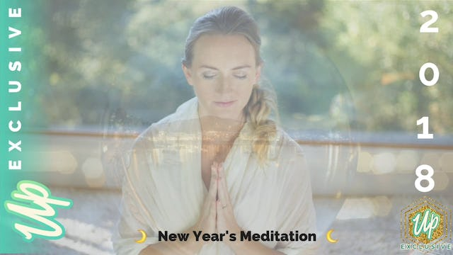 [NEW] New Year's Meditation 2018: Integrate & Manifest