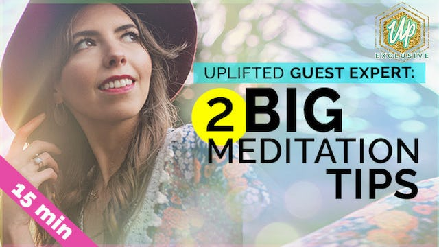 [Members-Only] Guest Expert: Meredith Rom 2 Big Meditation Tips