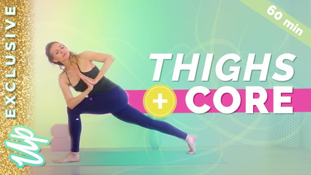 Sculpting Yoga for Thighs and Core (6...