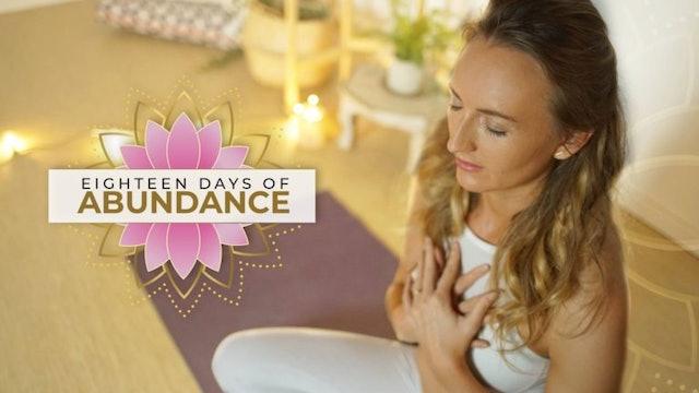 [NEW] 18 Days of Abundance