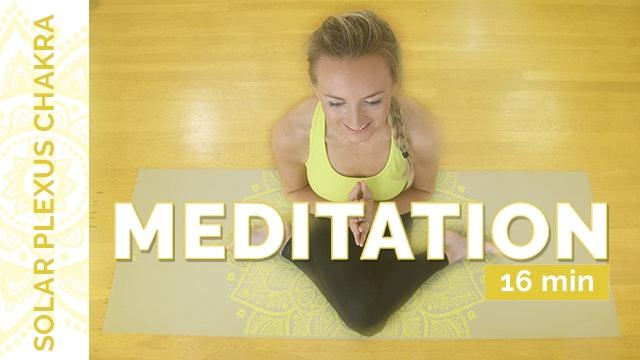 Chakra 3 - Meditation (16-Minutes)