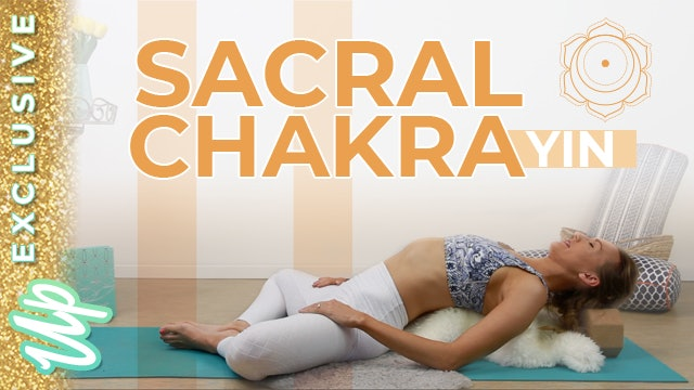 [NEW] EXTENDED Sacral Chakra Yin - 60 Min Includes Frog, Extended Savasana