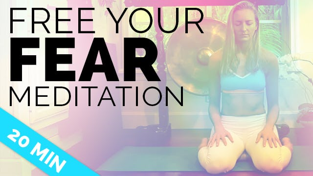 Overcome Fear Meditation - Face Your Fear Guided Meditation