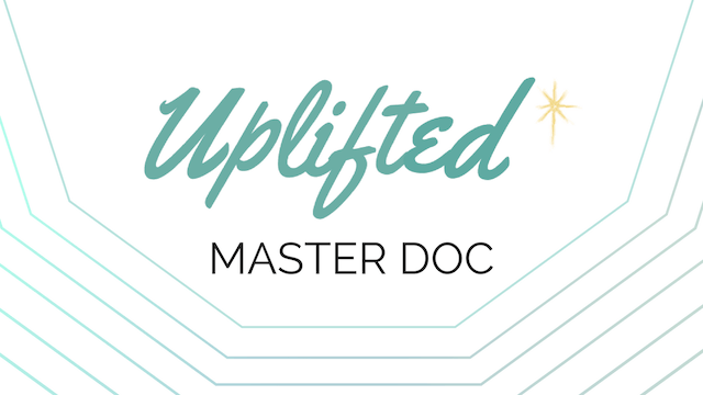 [Start Here!] Meet the Uplifted Maste...