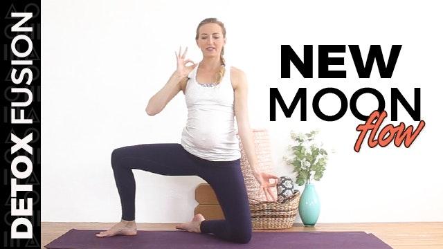 Day 17 - New Moon Flow   Vinyasa Yoga...