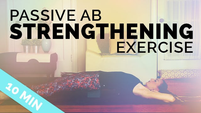 Gentle Core Strengthening Exercise to Stabilize Pelvis, Legs, Help Low Back Pain (10-min)